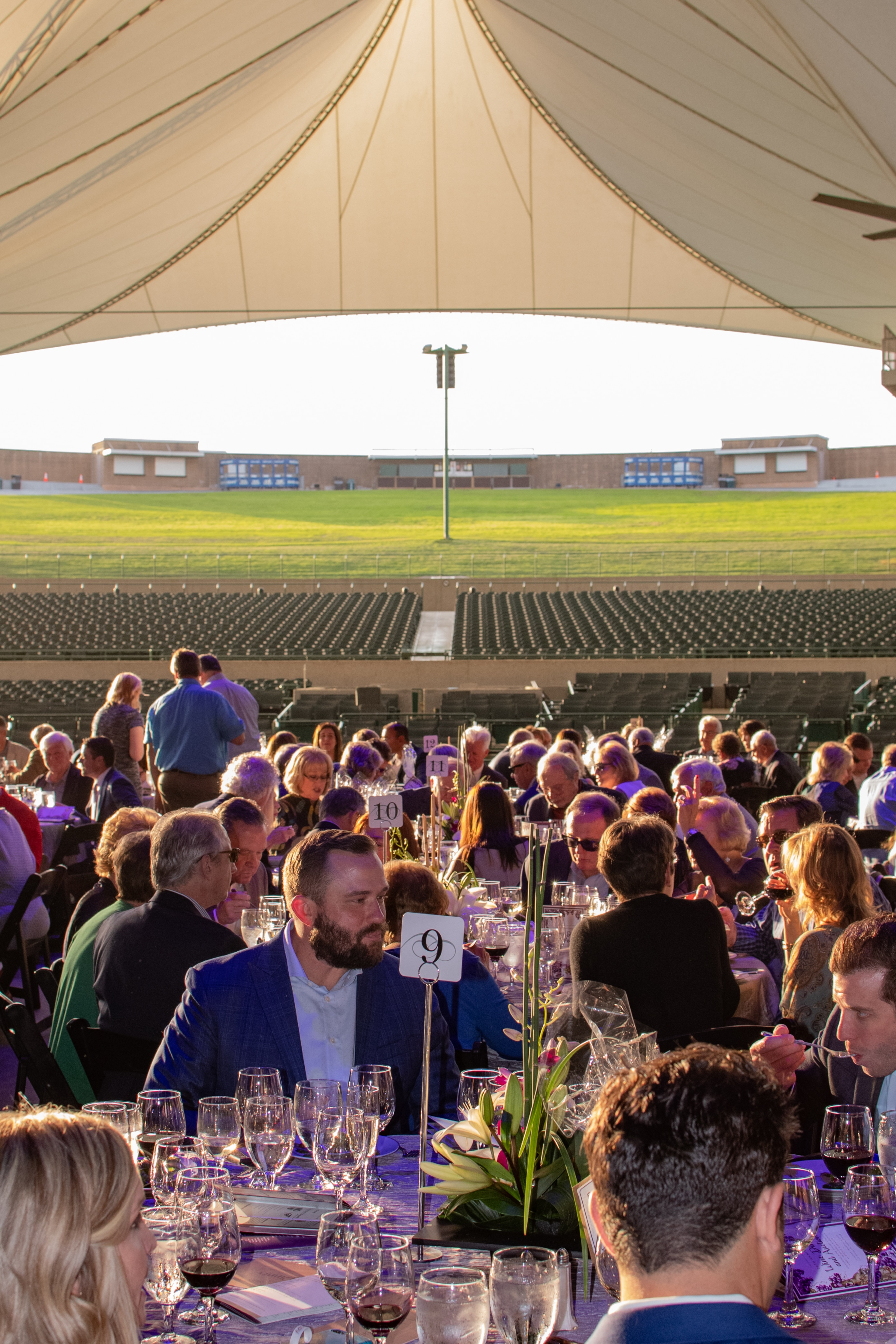 20th Anniversary Wine Dinner and Auction held at The Pavilion Partners