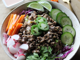 bahn mi bowl recipe healthy recipe