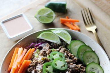 bahn mi bowl recipe healthy recipe