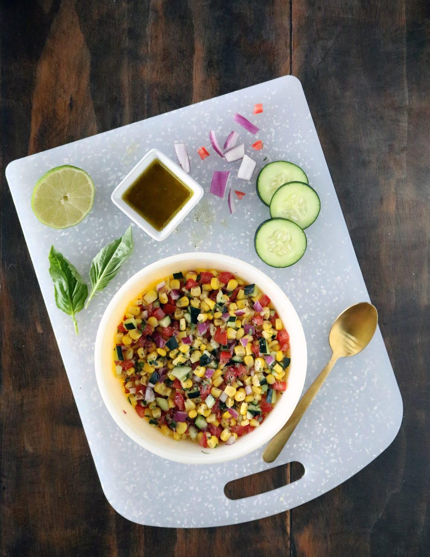 Cold corn salad recipe corn hash corn pico corn relish corn side soutwestern corn