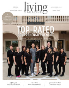 coutour dentistry living magazine cover