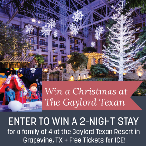 Gaylord Texas Giveaway