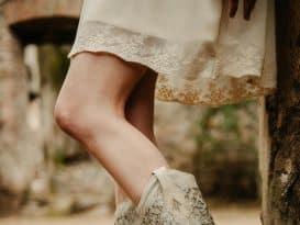 glittery boots