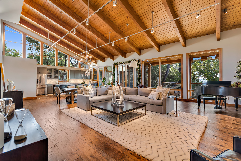 Open Concept Living Area Kitchen