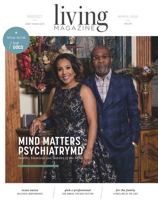 Keller Living Magazine February Cover