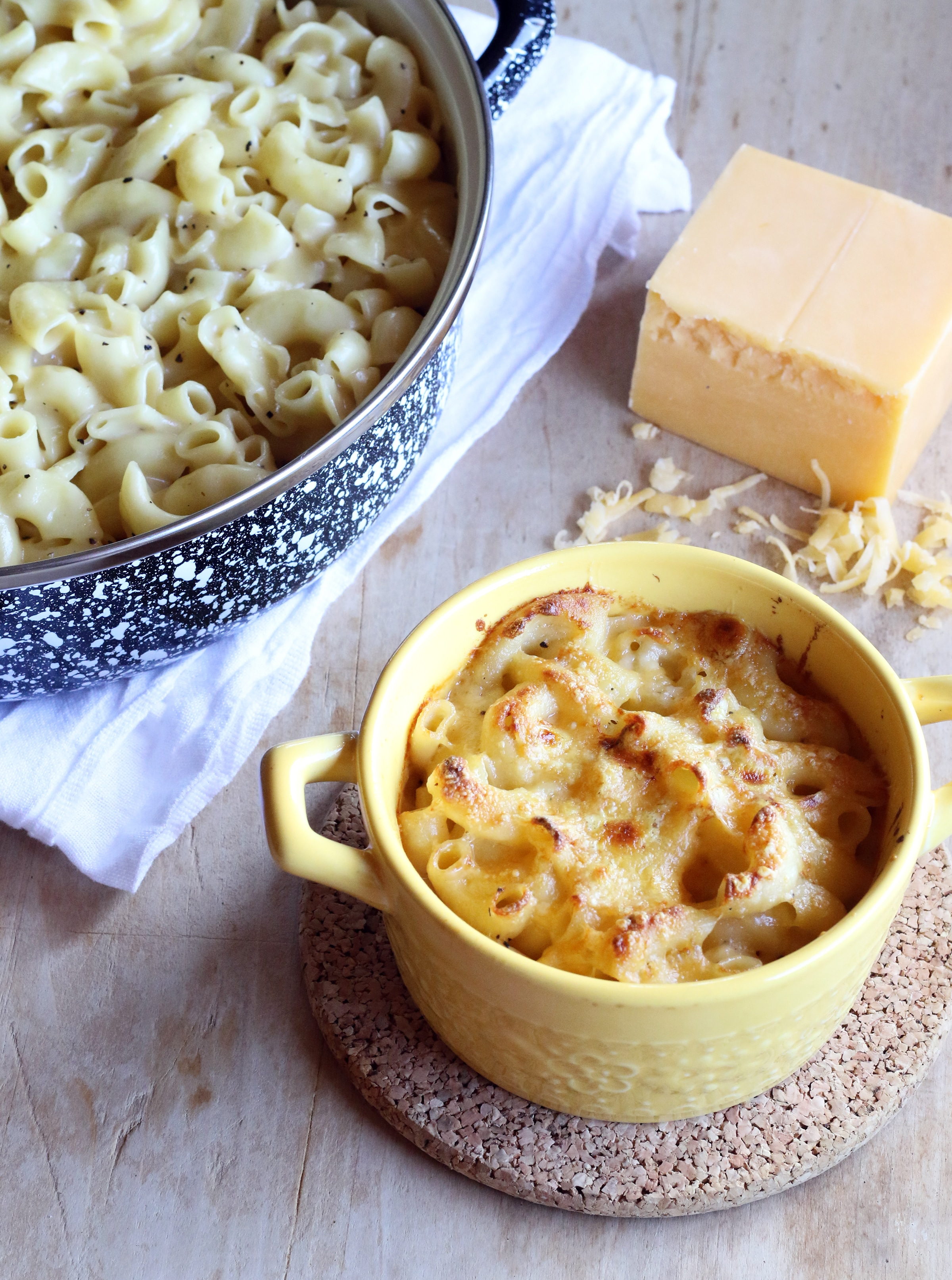 stove top macaroni and cheese thanksgiving side dish