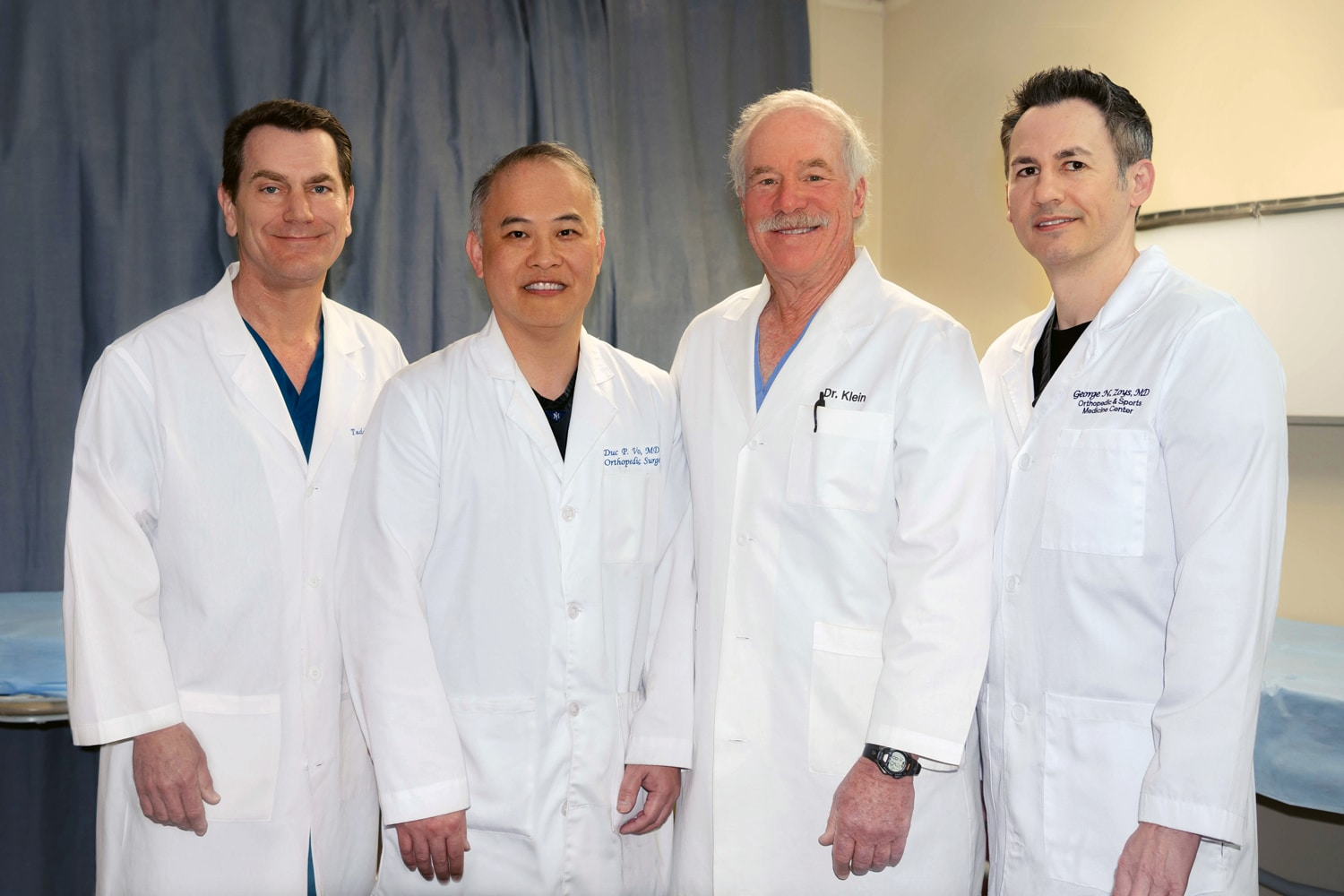 Orthopedic and Sports Medicine Center Todd Johnson, MD, FAAOS, Duc Vo, MD, FAAOS, Jeffrey Klein, MD, FAAOS, George Zoys, MD, FAAOS