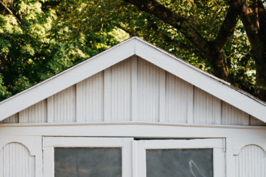 outdoor storage shed garage she-shed