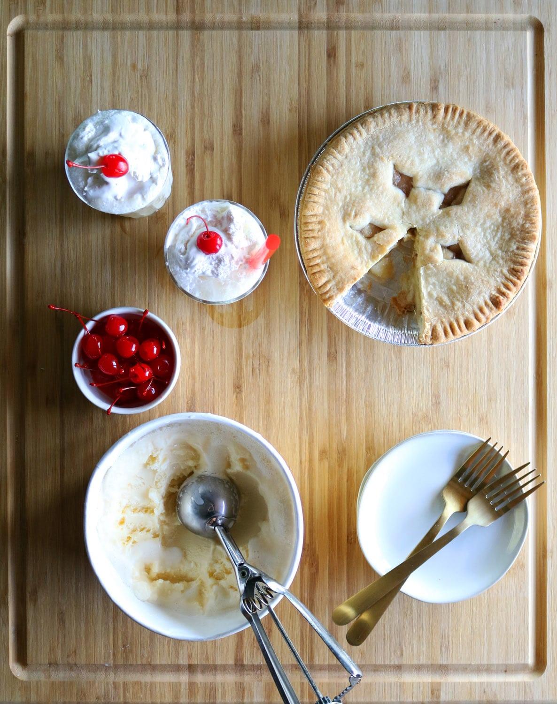 apple pie and ice cream recipe apple pie milkshake recipe