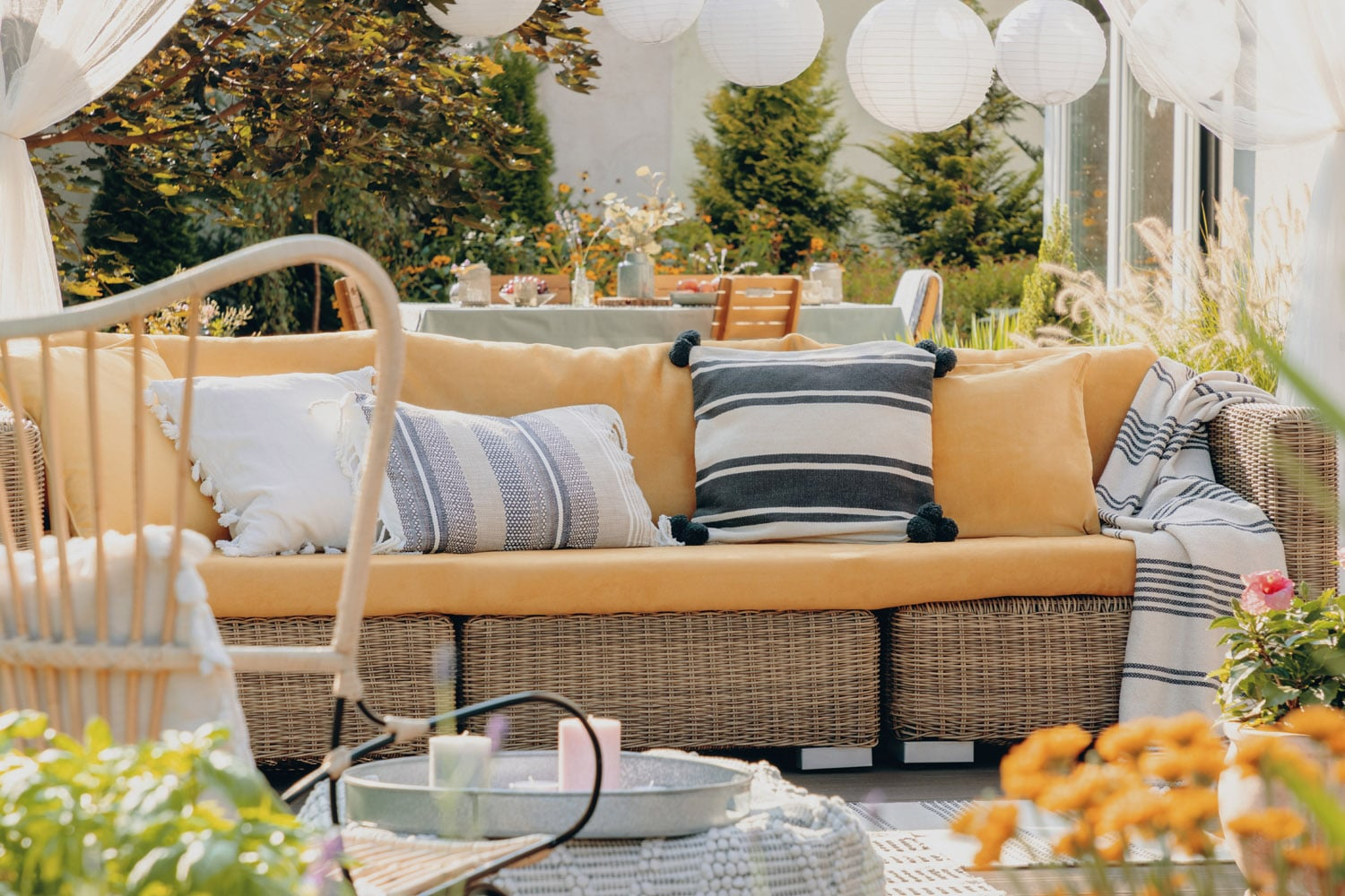Outdoor Living Space Design outdoor living space design - living magazine