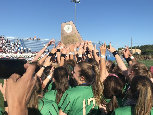 Southlake Carroll's Matt Colvin has been named the ALL-USA Girls Soccer Coach of the Year for his efforts with the Dragons