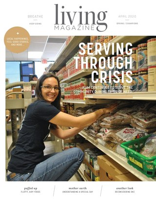 Spring Champions edition of Living Magazine April 2020