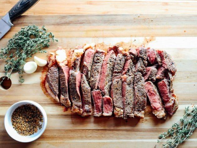Cast Iron Skillet Steak Recipe Texas