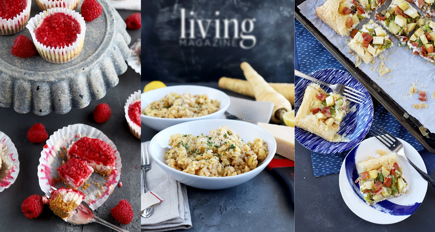 unexpected flavors recipes cheesecake puff tart risotto