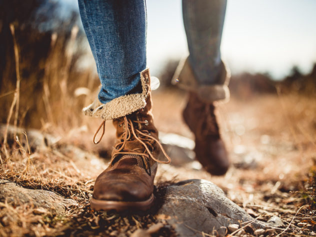 Walk the Christian path in Jesus' foot steps