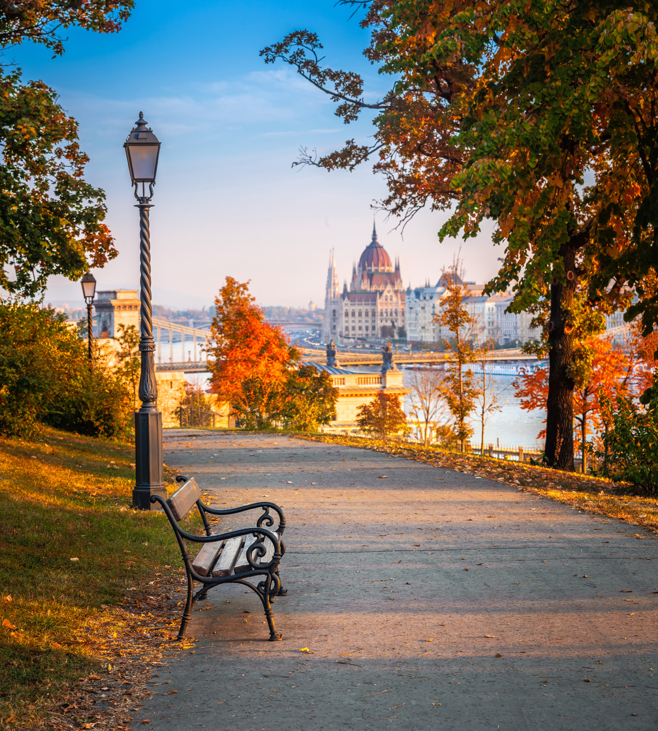 Budapest Hungary in the fall travel